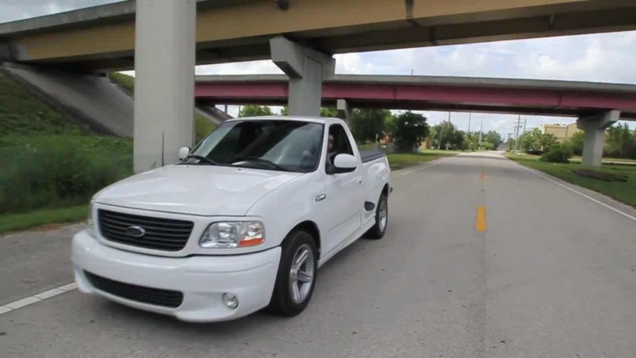 2004 ford lightning in hd burnout acceleration run youtube