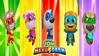 Talking Tom Hero Dash Talking Tom VS Talking Angela VS Talking Hank VS Talking Ginger VS Talking Ben