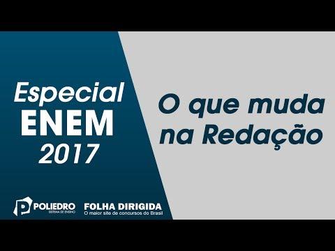 Enem: Especial ENEM 2017 – O que muda na Redação (ProUni)