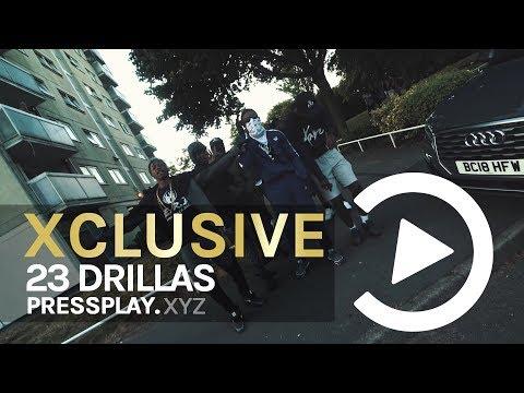 (23 Drillas) SmuggzyAce X S.White - Don't Ask (Music Video) Prod By 808Melo   Pressplay