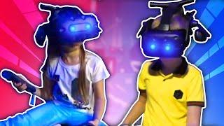 ВЛОГ Играем с друзьями в развлекательном центре