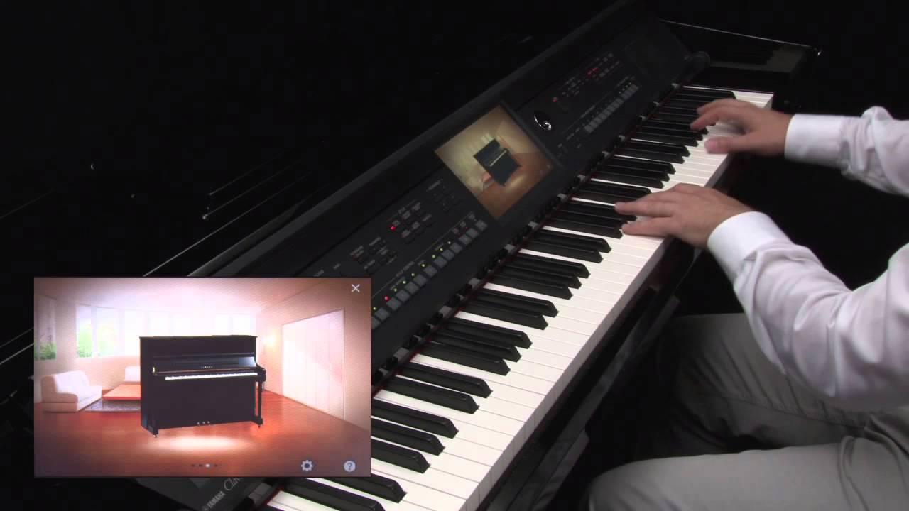 Yamaha Clavinova CVP-600 Series - Piano Room - YouTube