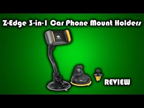 Zero Edge 3-in-1 Car Phone Mount Review