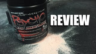 Psycho Preworkout Review | Scivation @EpicBeasts