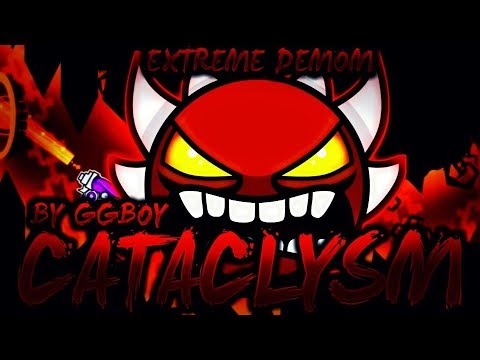 MY FIRST 144HZ DEMON! | 'CATACLYSM' 100% COMPLETE By GBoy! [EXTREME DEMON] | Geometry Dash [2.1]
