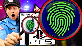 I FOUND FINGERPRINTS ON MY STOLEN PS5!!