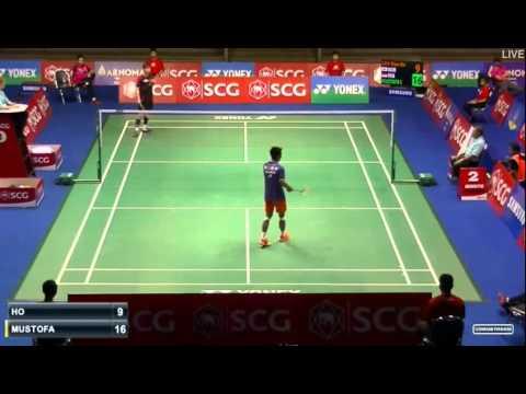 2015 SCG Thailand Open QF MS Ihsan Maulana MUSTOFA vs SON Wan Ho