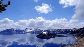 Crater Lake National Park - Timelapse