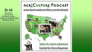 agri-Culture Podcast Ep42 The Goose: I feel the need, the need for speed,