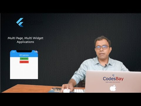 Flutter : Multi Page Application with Routes - YouTube