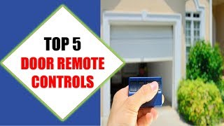 Top 5 Best Door Remote Controls 2018 | Best Door Remote Control Review By Jumpy Express