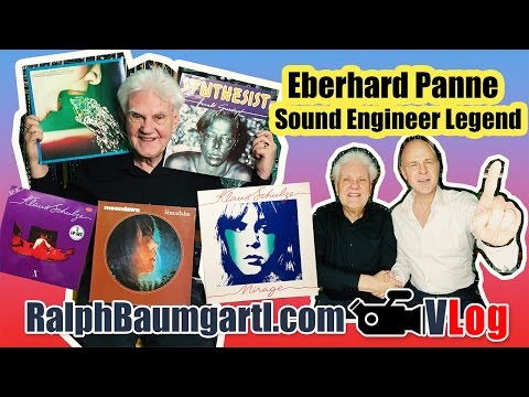 Eberhard Panne the Sound Engineer for Klaus Schulze, Ashra and Berlin School of Electronic Music