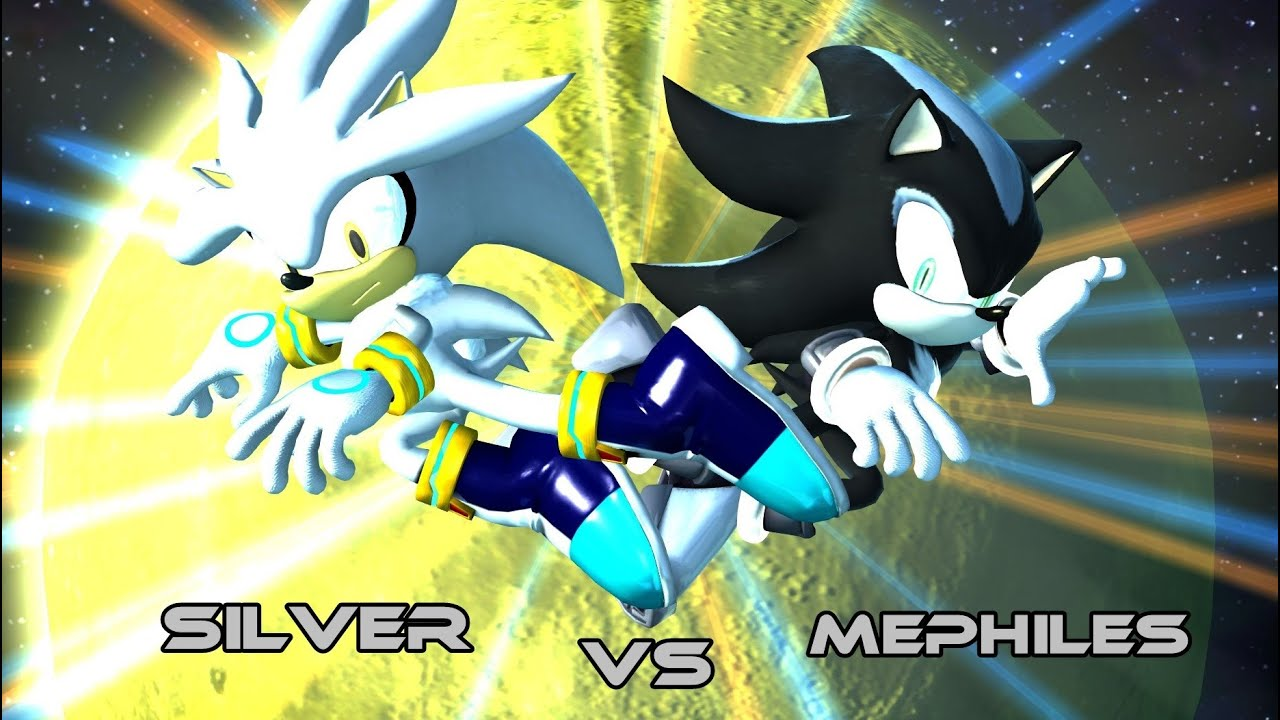 Sonic Generations (PC) - Silver vs Mephiles - YouTube