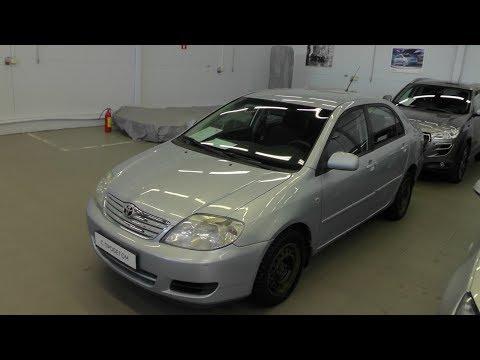 Выбираем б у авто Toyota Corolla E12 бюджет 250 300тр