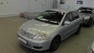 Выбираем б у авто Toyota Corolla E12 бюджет 250 300тр смотреть