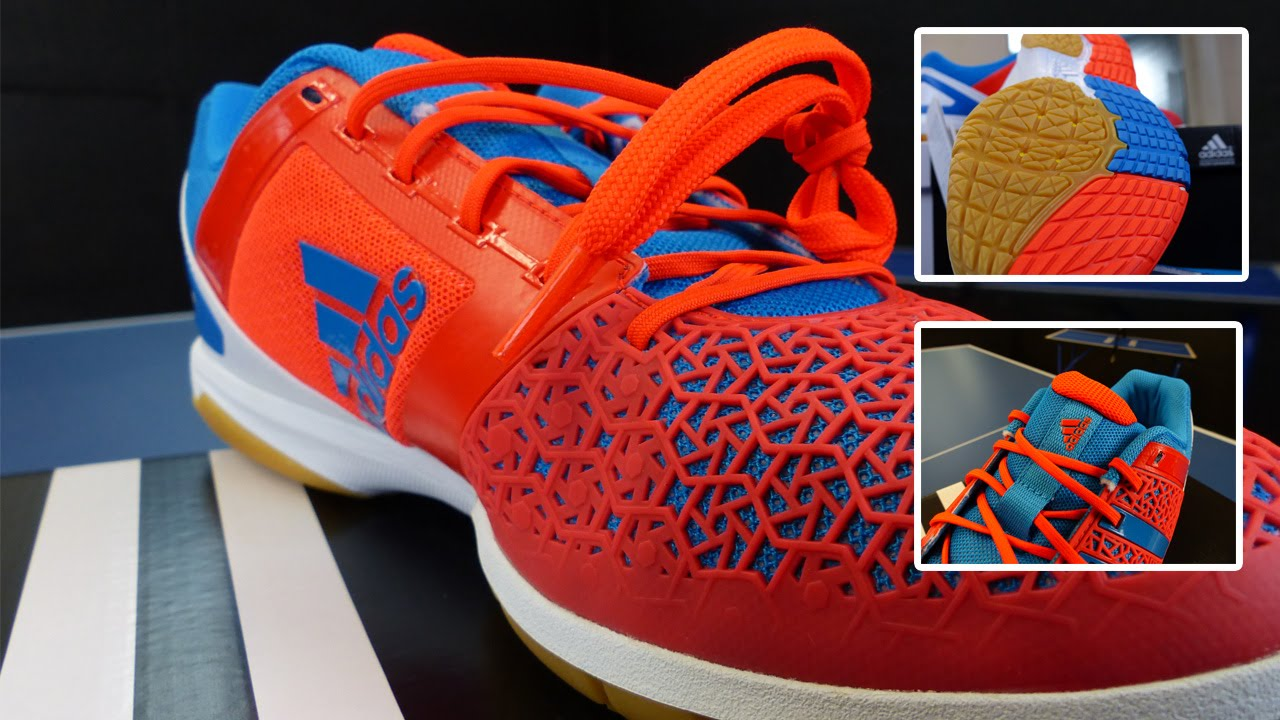 Adidas Courtblast Pro Tischtennis Schuhe Unboxing & Review TT Helden