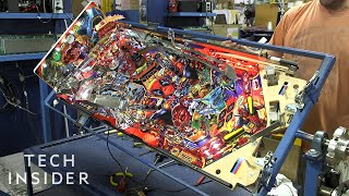 Inside One Of The Last Pinball Factories In The US