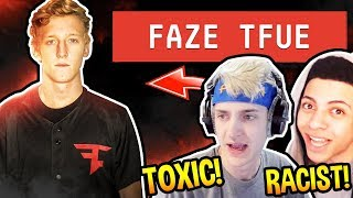 NINJA & MYTH *REACT* TFUE GETTING BANNED! *BEEF!* - Fortnite EPIC Moments