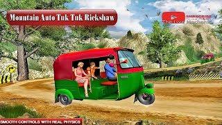 Mountain Auto Tuk Tuk Rickshaw : New Games 2020 (Android-Free) screenshot 1