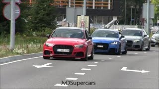 660HP Audi TT-RS 8S w/ Decat Downpipe & Audi RS3 8v w/ Straight Pipe - LOUD SOUDNS!