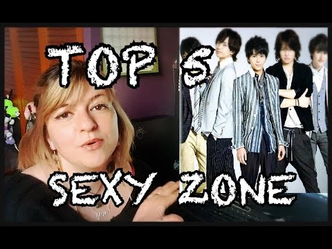 TOP 5 SEXY ZONE (Eng subs)