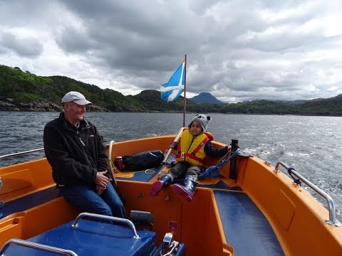 Glass Bottom Boat Sealife Cruise Gairloch Scotland