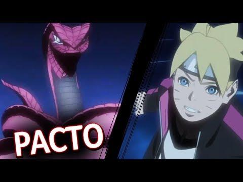 PACTO entre BORUTO E GARAGA - Fred   Anime Whatever