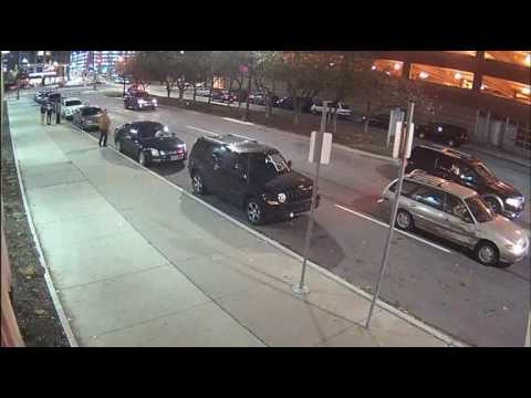 Suspect vehicle from downtown Detroit fatal hit-and-run