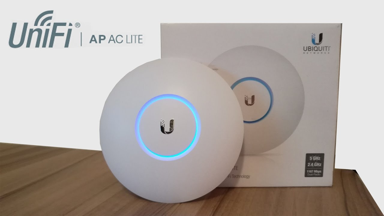 Ubiquiti AP AC Lite - Review und Setup [Deutsch/German]
