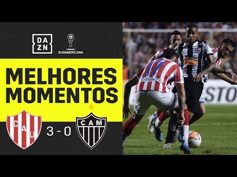 Unión 3 x 0 Atlético   Copa Sul-Americana   Melhores Momentos