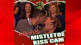 Ellen's Mistletoe Kiss Cam HD