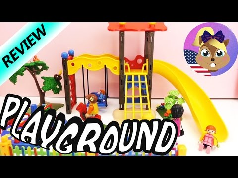 Playmobil City Life Playground - playmobil playsets - Have Fun at the Park - Set Review