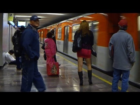 Reports from Mexico City's Metro: Sex Trafficking