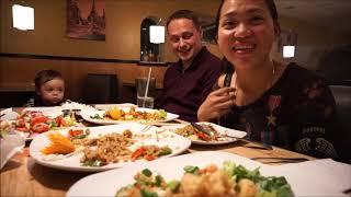 Vlog 329 ll Quay Lại Với Cuộc Sống Mỹ, Cả Nhà Đi Ăn Đồ Thái