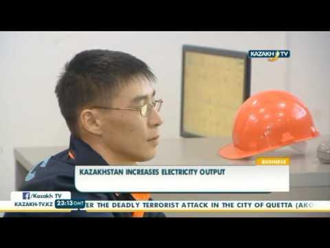 Kazakhstan increases electricity output - Kazakh TV
