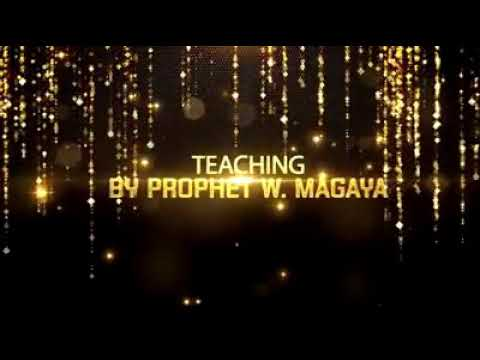 Who is around you? Teaching by Prophet W. Magaya