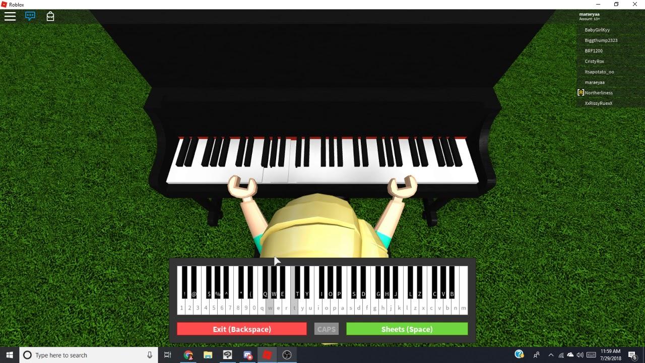 It S Quiet Uptown Roblox Virtual Piano Hamilton Youtube