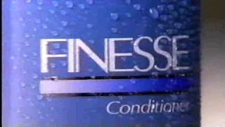 1990 Finesse Shampoo and Conditioner commercial Thumbnail
