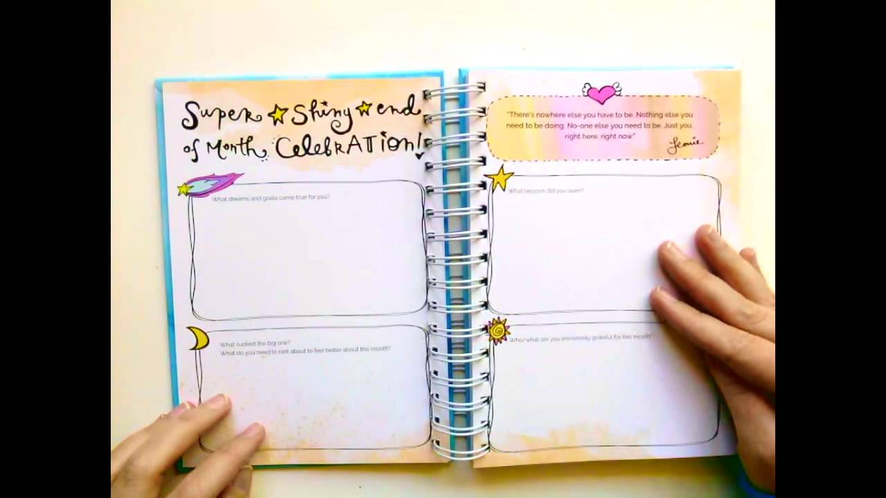 2016 shining year diary planner youtube