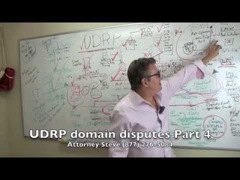 UDRP domain name dispute arbitration part 4