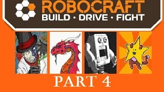 Robocraft | Four Fine Fellows | Part 4 - Early Aggression