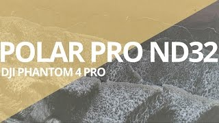 Sample footage using Polar Pro ND 32 filter on a Phantom 4 Pro