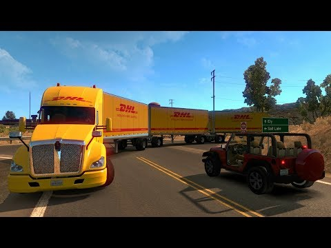 Kenworth T680 | De Elko A Jackpot, Nevada | American Truck Simulator