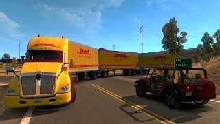 vuclip Kenworth T680 | De Elko a Jackpot, Nevada | American Truck Simulator
