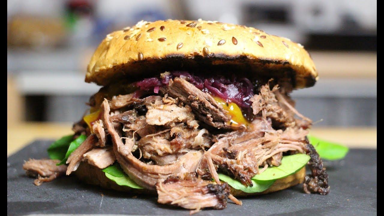 Cobb Gasgrill Pulled Pork : Wildschwein pulled pork aus dem dutch oven deutsches grill und