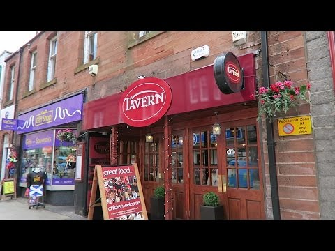 Lunch At The Tavern Restaurant - Fort William, Scotland