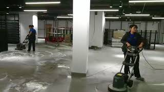Обучение клинеров. Профессиональное оборудование для уборки