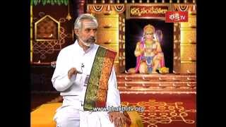 Hanuman Sindhoora Pooja Vidhi | Dharma sandehalu - Episode 438_Part 2