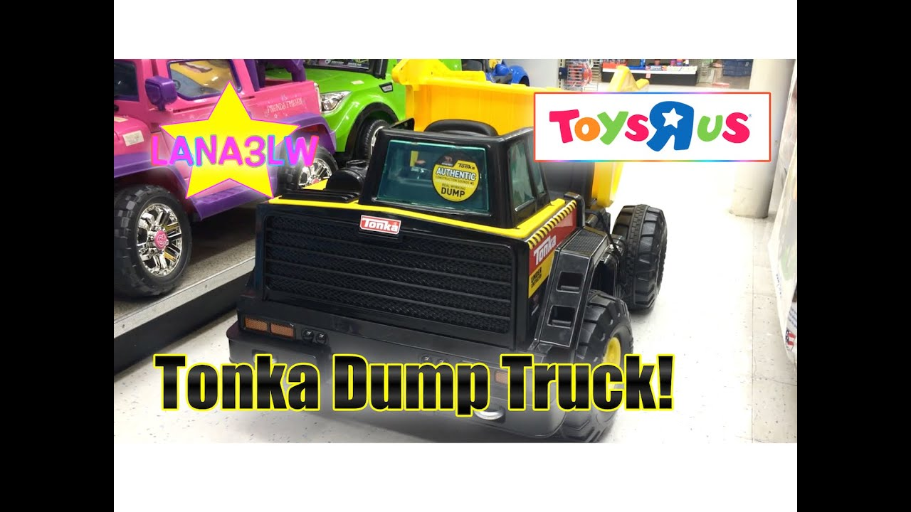 Best Por Kids Tonka Monster Dump Truck Ride On Electric Lana3lw