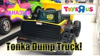 Best Por Kids Tonka Monster Dump Truck Ride On Electric Lana3lw